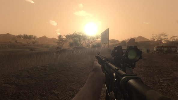 On PC, Far Cry 2 is still a stunner.