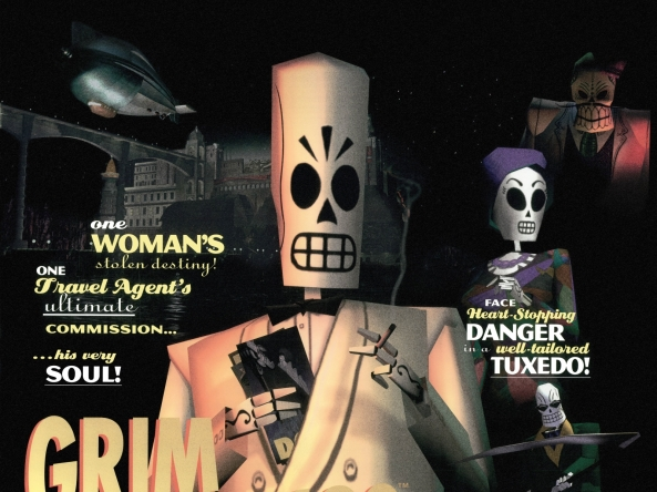 Grim Fandango, full of superb characters and dark humour, this one.