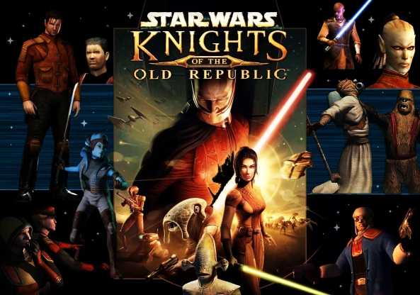 Star Wars: Knights of the Old Republic, best Star Wars game ever? We'd say yes.