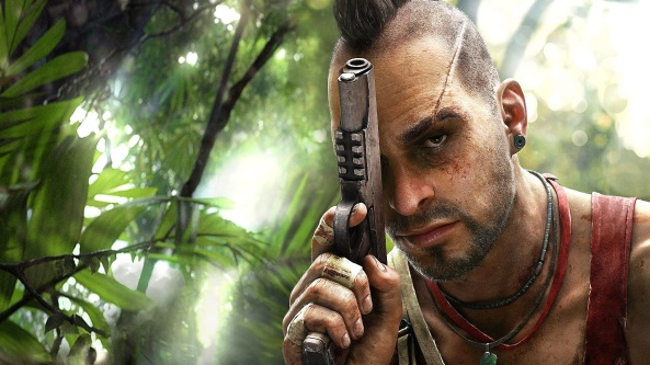 Vaas shouted a lot. It's because he's insane…