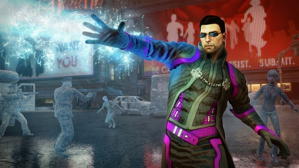 Saints Row IV features super-powers. Pimpin' IS easy.