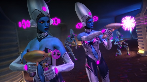 Aliens. Super-powers. PURPLE!
