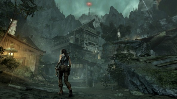 This year's Tomb Raider reboot was linear - it was also a commercial and critical hit.