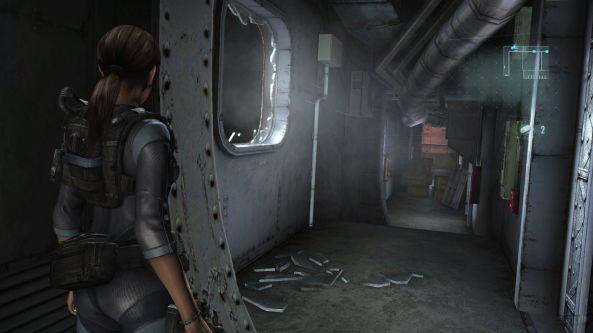 An abandoned ocean liner is a perfect setting for Resident Evil.