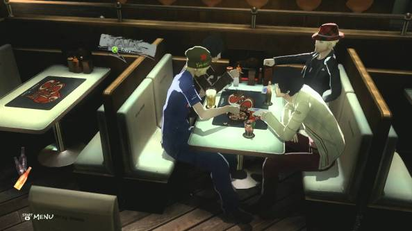 Many gamers felt the best part of Catherine was spending time with your buddies at the bar.