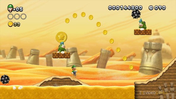 New Super Luigi is on its way to Wii U - it looks very similiar to New Mario Bros though...