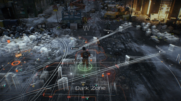 The Division is mixing single-player with MMO features - and lots of player freedom.