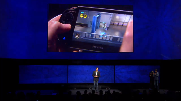 We'll see lots of this - Sony have told developers Vita streaming is a must in their games.