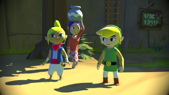 Zelda-Wii-U-Wind-Waker-HD-Link-and-Villagers