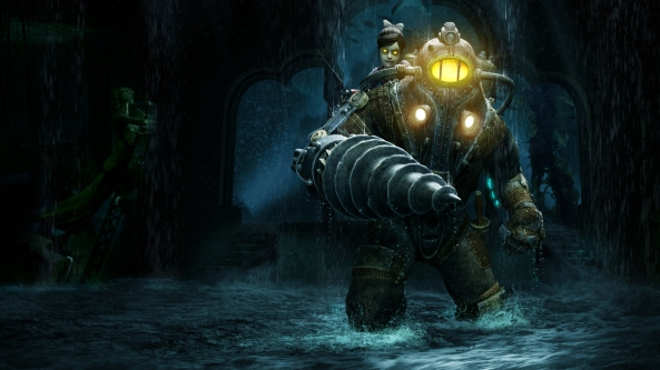 There are many reasons why the Big Daddies were front and centre of BioShock's PR - Jack was a non-entity.